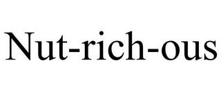NUT-RICH-OUS trademark