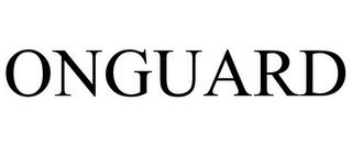 ONGUARD trademark