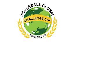 PICKLEBALL GLOBAL CHALLENGE CUP ESTABLISHED 2018 trademark