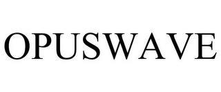 OPUSWAVE trademark