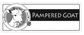 PAMPERED GOAT trademark