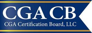 CGA CB CGA CERTIFICATION BOARD, LLC trademark