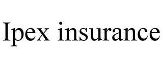 IPEX INSURANCE trademark