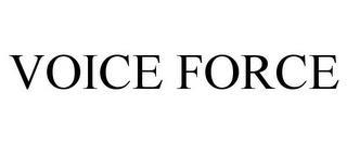 VOICE FORCE trademark
