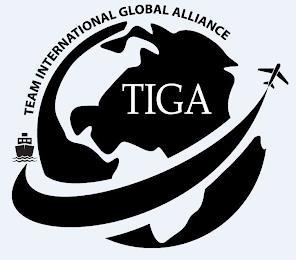 TEAM INTERNATIONAL GLOBAL ALLIANCE TIGA trademark
