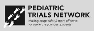 PEDIATRIC TRIALS NETWORK MAKING DRUGS SAFER & MORE EFFECTIVE FOR USE IN THE YOUNGEST PATIENTS trademark