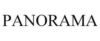 PANORAMA trademark