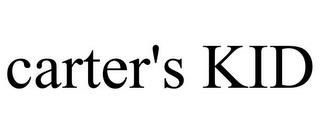 CARTER'S KID trademark