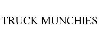 TRUCK MUNCHIES trademark