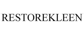 RESTOREKLEEN trademark