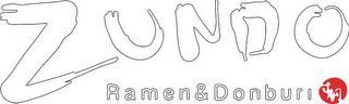 ZUNDO RAMEN & DONBURI trademark