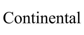 CONTINENTAL trademark