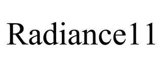 RADIANCE11 trademark