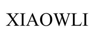 XIAOWLI trademark