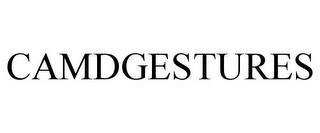 CAMDGESTURES trademark