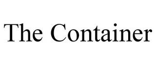 THE CONTAINER trademark