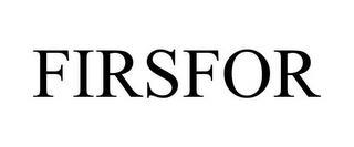 FIRSFOR trademark