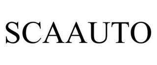 SCAAUTO trademark