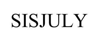 SISJULY trademark