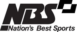 NBS NATION'S BEST SPORTS trademark