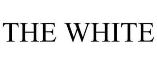 THE WHITE trademark