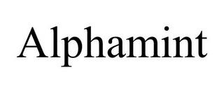 ALPHAMINT trademark