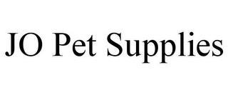 JO PET SUPPLIES trademark