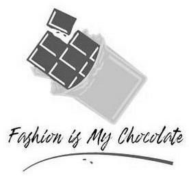 FASHION IS MY CHOCOLATE trademark