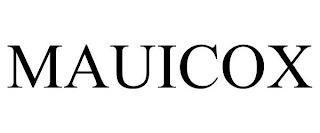 MAUICOX trademark