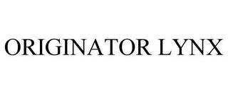 ORIGINATOR LYNX trademark