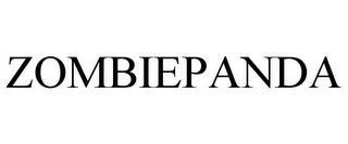 ZOMBIEPANDA trademark