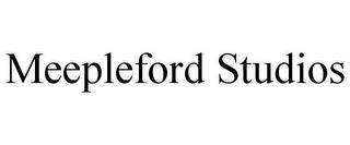 MEEPLEFORD STUDIOS trademark