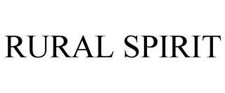 RURAL SPIRIT trademark
