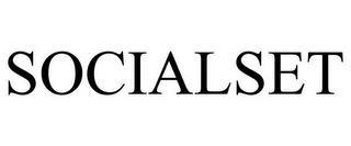 SOCIALSET trademark