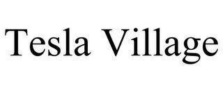 TESLA VILLAGE trademark
