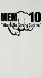 "MEM 10 ""WHERE THE STRONG SURVIVE"" trademark"