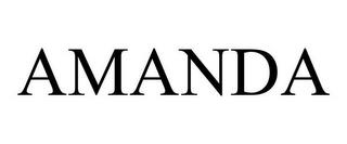 AMANDA trademark