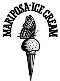 MARIPOSA ICE CREAM trademark