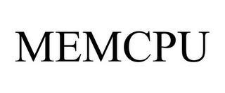 MEMCPU trademark
