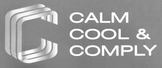 CCC CALM COOL & COMPLY trademark