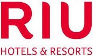 RIU HOTELS & RESORTS trademark