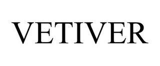 VETIVER trademark