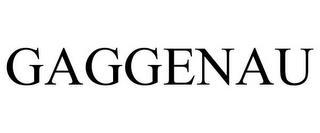 GAGGENAU trademark