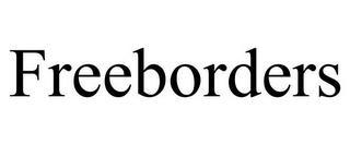 FREEBORDERS trademark