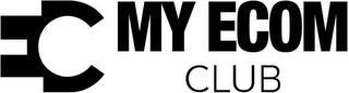 EC MY ECOM CLUB trademark