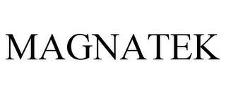 MAGNATEK trademark