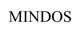 MINDOS trademark