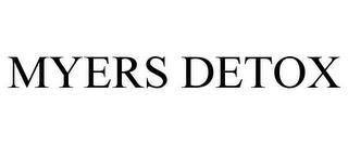 MYERS DETOX trademark