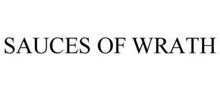 SAUCES OF WRATH trademark
