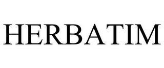 HERBATIM trademark